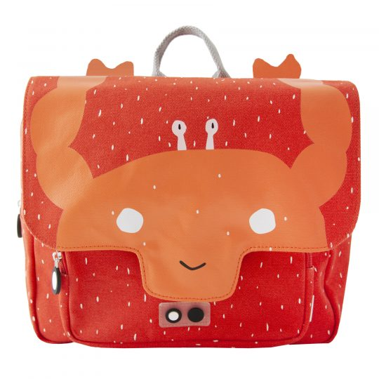 cartable enfant crabe