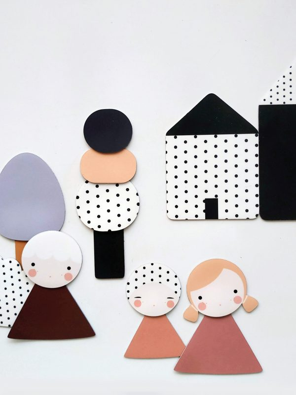 magnets superposables